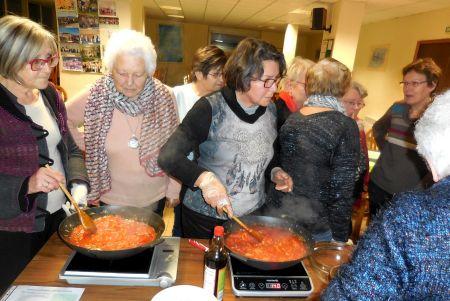 2017 - Cuisine du Lundi - Atelier du 06 Février (2)