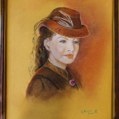 2018-2019 - Peinture - Pastel Portrait