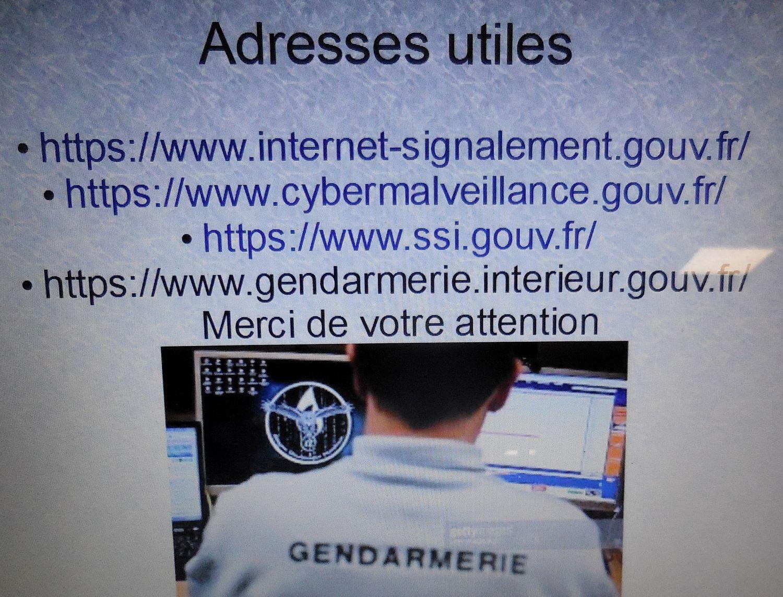 Prévention des Arnaques par la Gendarmerie